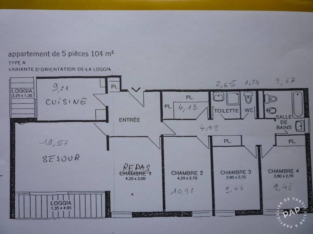 Vente Appartement Torcy (77200) 104m² 265.000€
