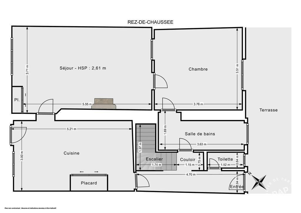 Vente immobilier 195.000€ Citry (77730)