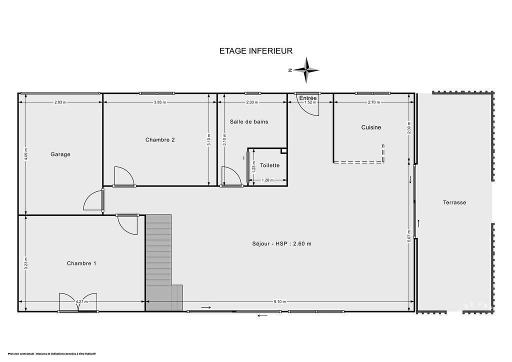 Maison 445.000€ 136m² Saint-Michel-Sur-Orge (91240)