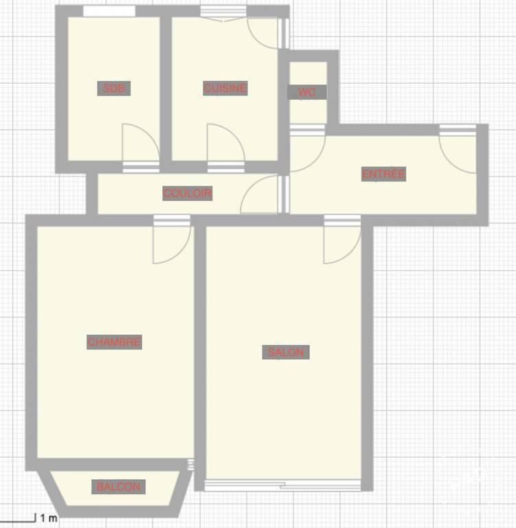 Vente Appartement Paris 17E (75017) 60m² 750.000€