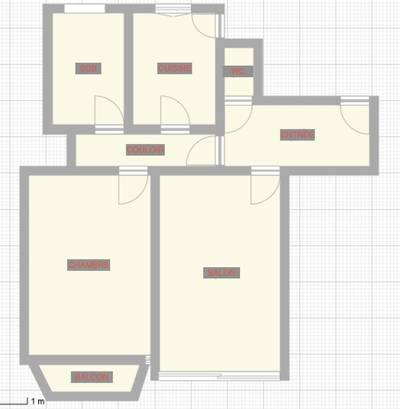 Vente appartement 2pièces 60m² Paris 17E (75017) - 850.000€