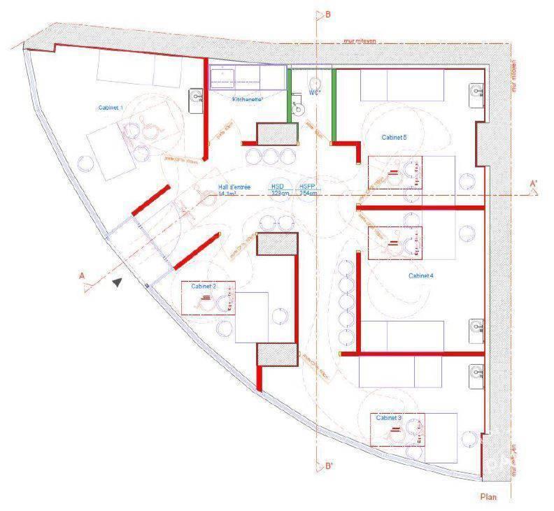 Location Bureaux et locaux professionnels