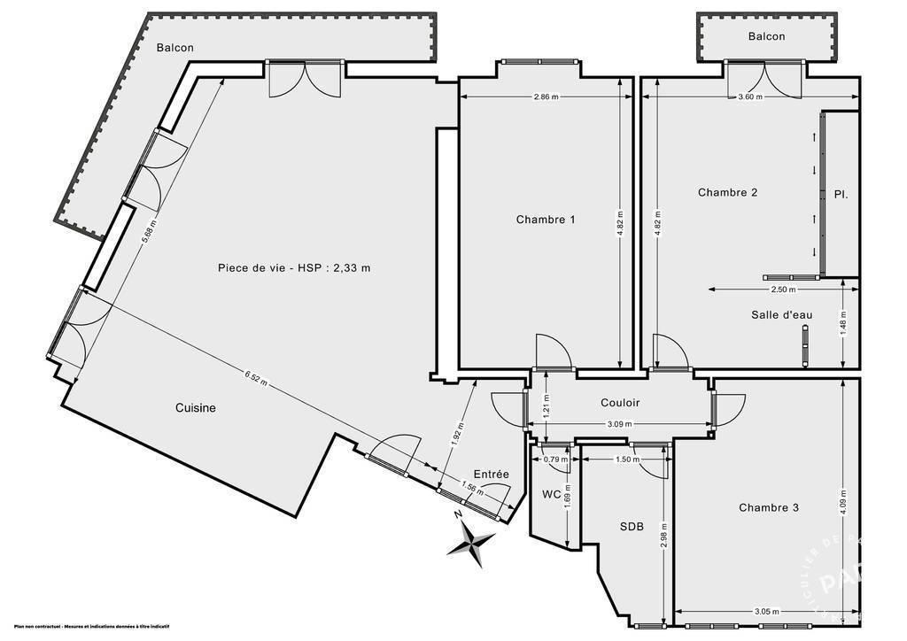 Vente Appartement Paris 10E (75010) 94m² 995.000€