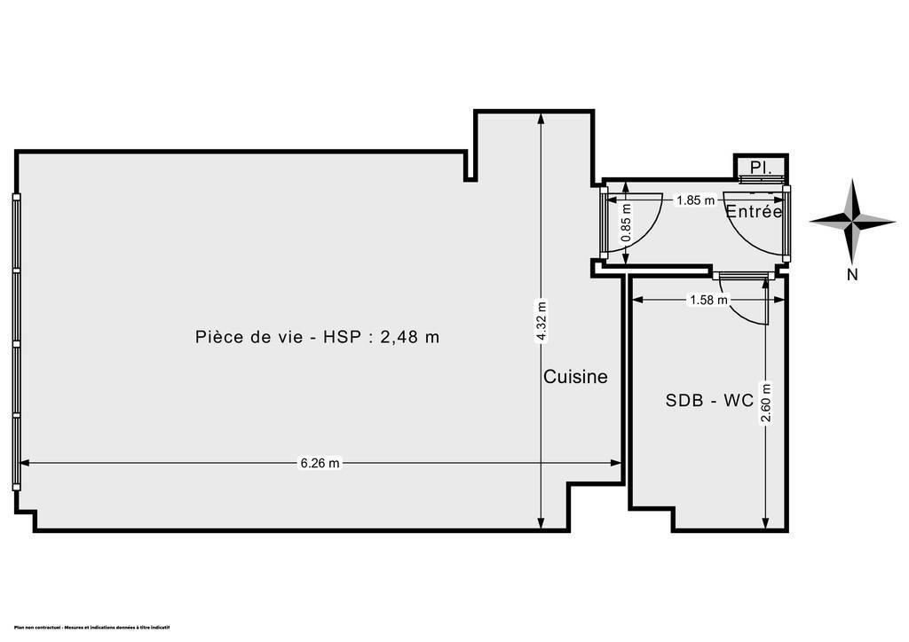 Vente Appartement Paris 14E (75014) 31m² 335.000€