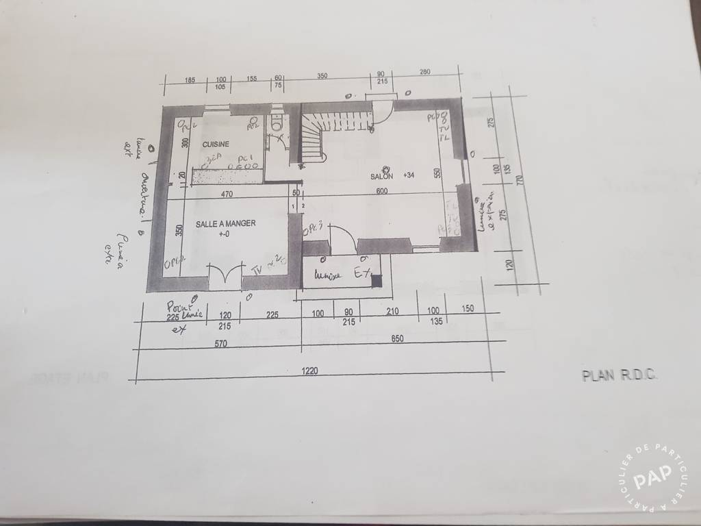 Vente Maison Brettes (16240) 90m² 75.000€