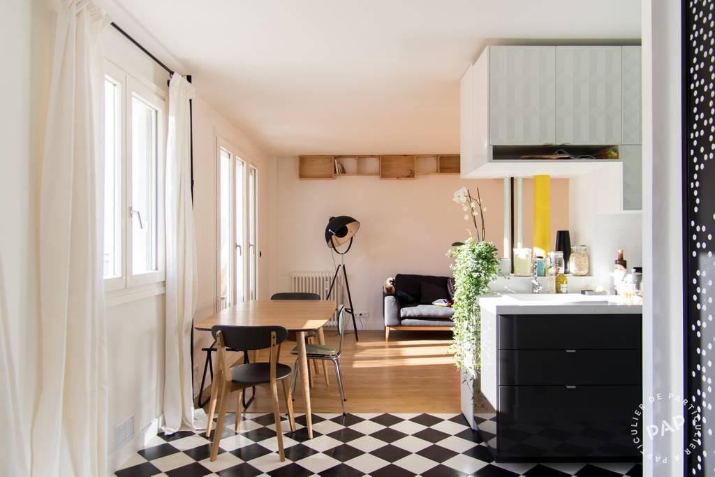 Vente Appartement Paris 20E (75020) 60m² 690.000€