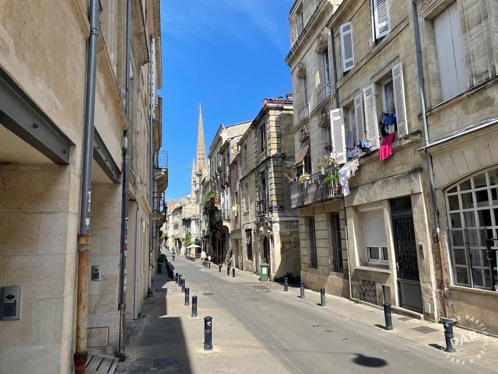 Vente Appartement Bordeaux (33000) 28m² 175.000€