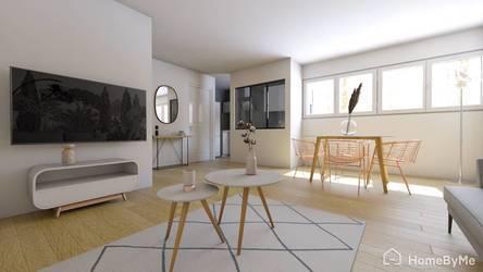 Vente appartement 3pièces 66m² Paris 12E (75012) - 580.000€