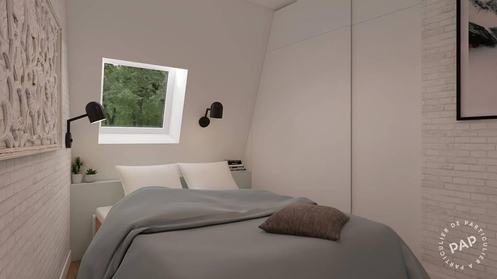 Vente appartement studio Paris 17e