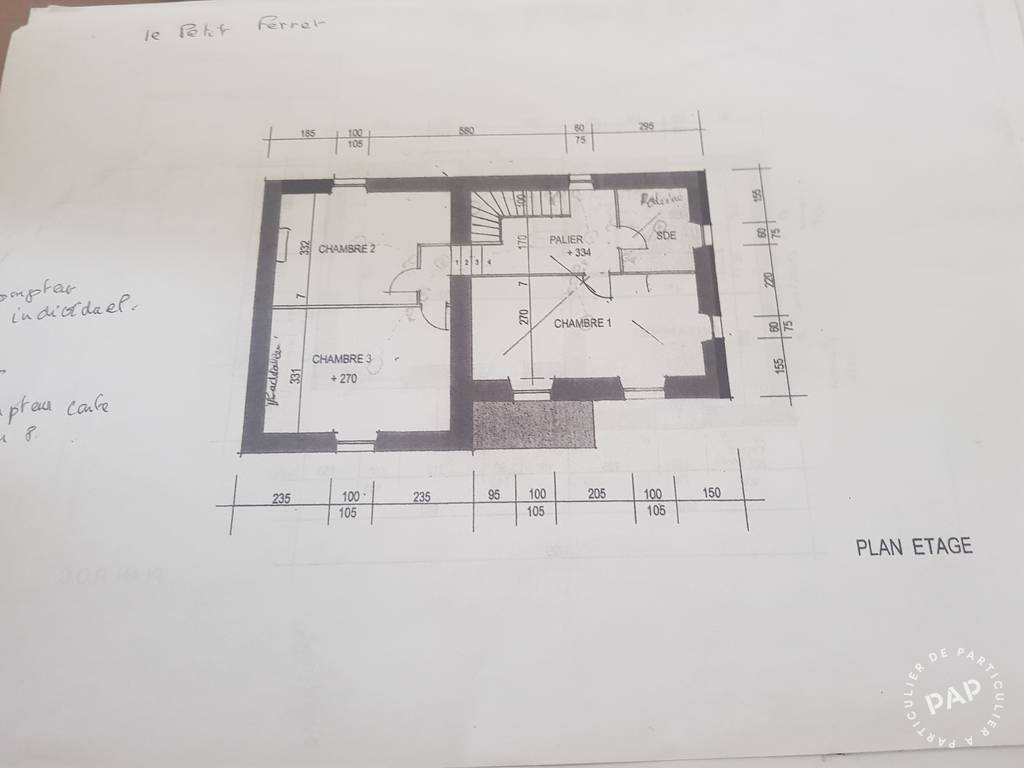Vente Maison Brettes (16240)