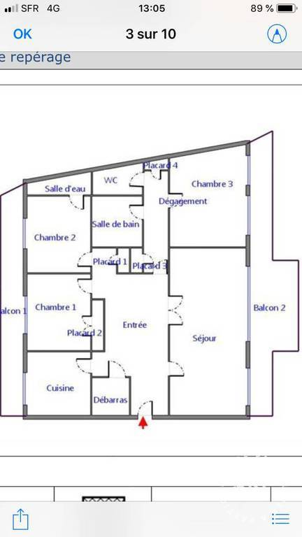 Immobilier Toulouse (31000) 1.830€ 120m²
