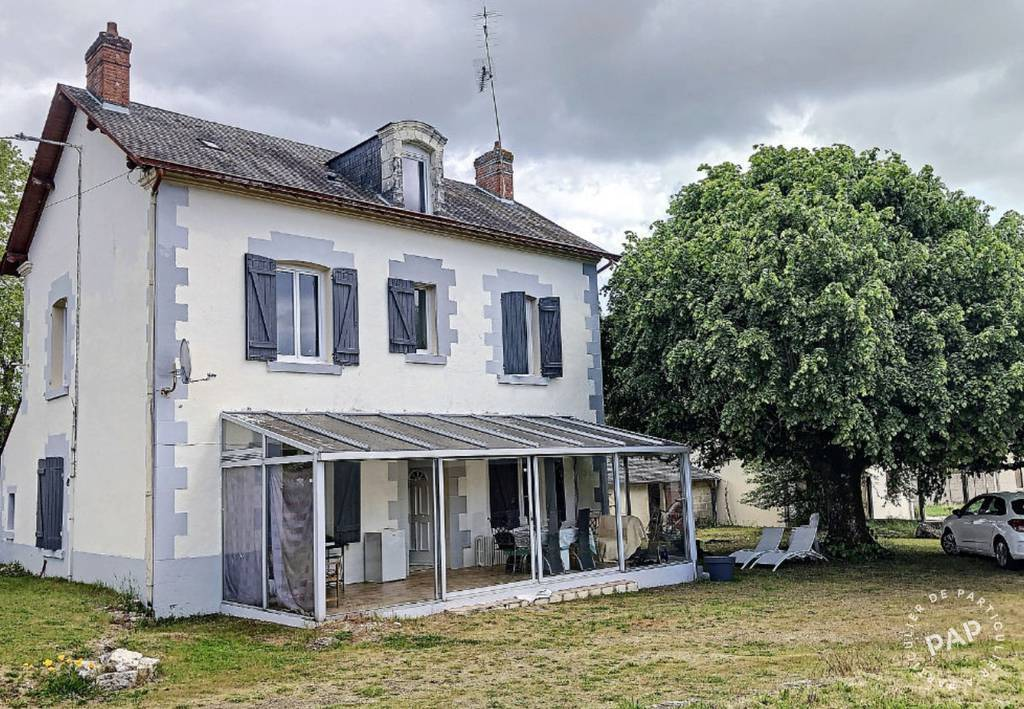 Vente Maison Cellettes (41120) 190m² 255.000€