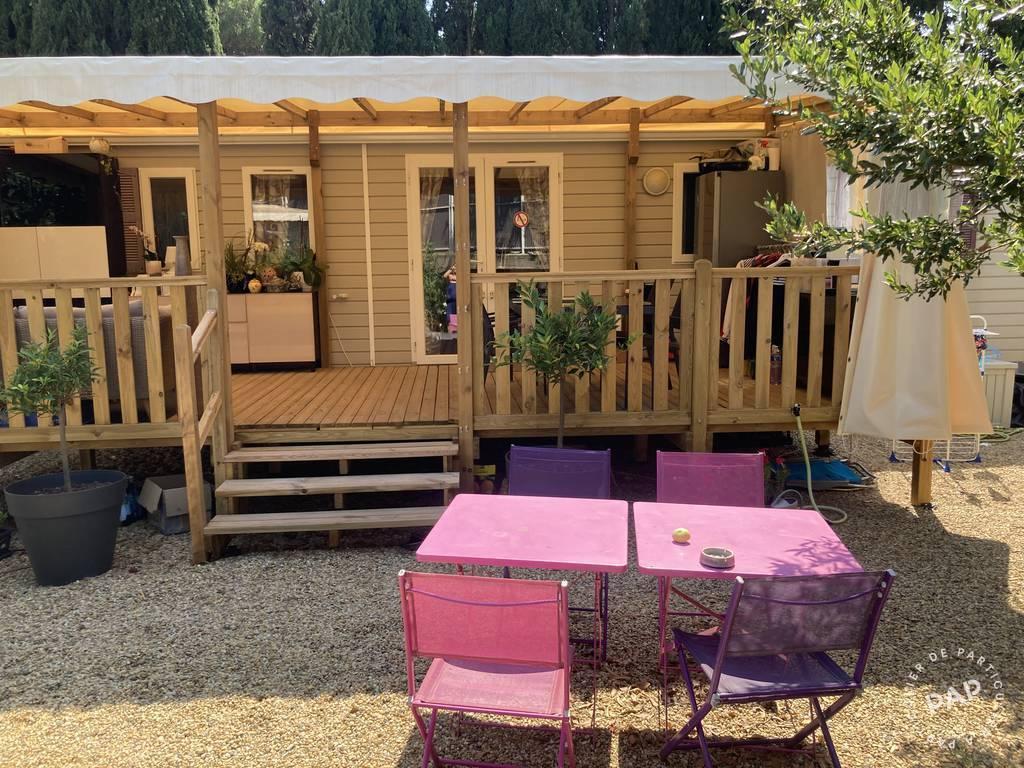 Vente Chalet, mobil-home Valras-Plage (34350) 40m² 42.000€