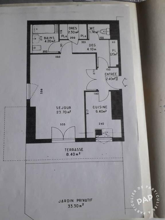 Vente -Jardin 40 M2- Cave 46m²