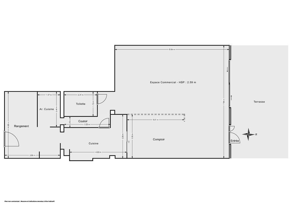 Vente et location Fonds de commerce Aigues-Mortes (30220) 140m² 157.500€