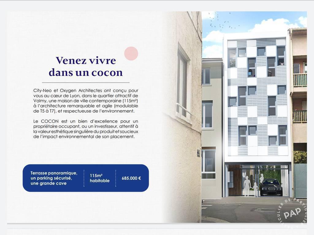 Vente Maison Lyon 9E (69009) 115m² 685.000€