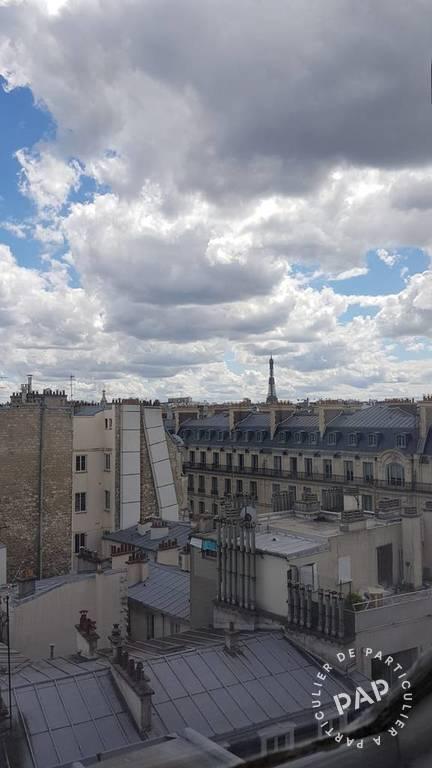 Location appartement studio Paris 17e