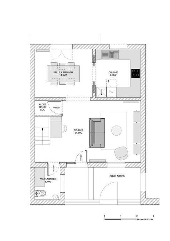 Appartement a louer nanterre - 4 pièce(s) - 88 m2 - Surfyn