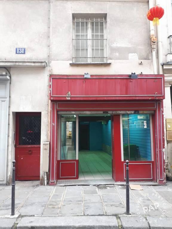 Vente et location Local commercial Paris 3E 62m² 2.240€