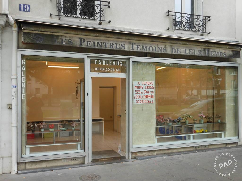 Vente et location Local commercial Paris 12E 55m² 400.000€