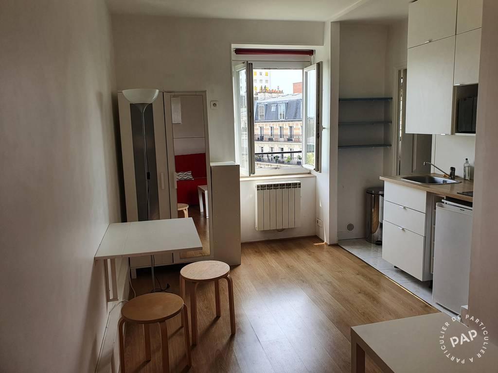 Location appartement studio Paris 14e