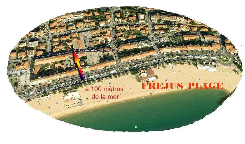 Frejus Plage - dès 420 euros par semaine - 3 personnes